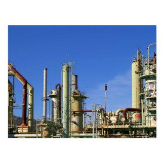 Cartão Postal Refinaria de petróleo
