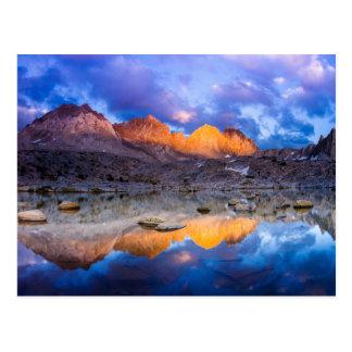 Cartão Postal Reflexão da montanha, Califórnia