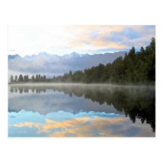 Cartão Postal Reflexão do lago