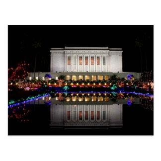 Cartão Postal Reflexão do templo do Mesa