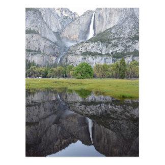 Cartão Postal Reflexões de Yosemite Falls