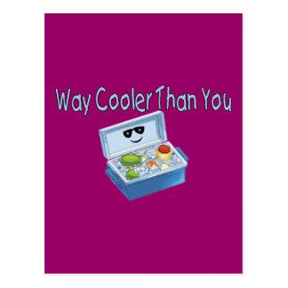 Cartão Postal Refrigerador da maneira do que você