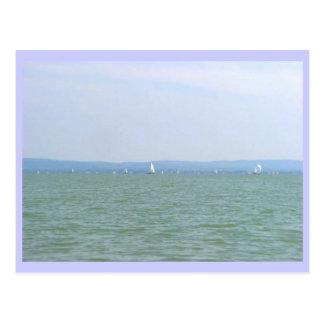 Cartão Postal Regata de Balaton