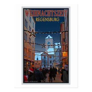 Cartão Postal Regensburg Altes Rathaus