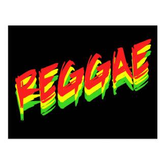 Cartão Postal Reggae
