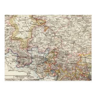 Cartão Postal Região de Hanover de Alemanha