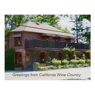 Cartão Postal Região vinícola de Napa Valley - Yountville