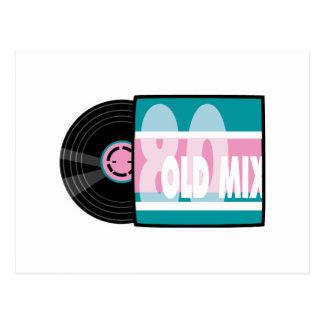 Cartão Postal registro da velha escola 80s