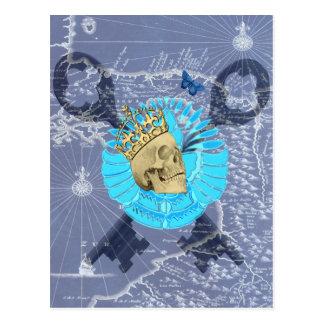 Cartão Postal Rei Crânio