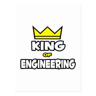 Cartão Postal Rei da engenharia