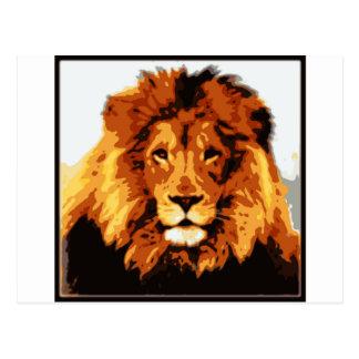 Cartão Postal Rei da selva