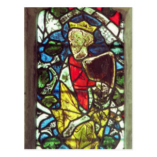 Cartão Postal Rei David, século XIV
