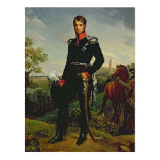 Cartão Postal Rei de Frederic William III de Prússia, 1814