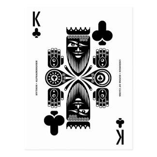 Cartão Postal Rei de Mythos Chronos dos clubes