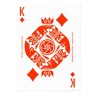 Cartão Postal Rei de Mythos Jormungandr dos diamantes