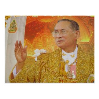 Cartão Postal Rei de Tailândia