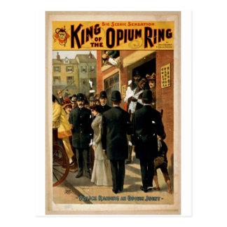 Cartão Postal Rei do anel do ópio