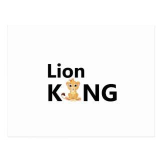 Cartão Postal rei do leão