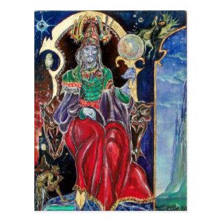 Cartão Postal Rei do mágico de NEUROMANCER