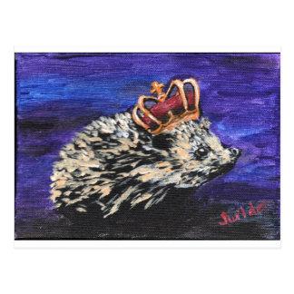 Cartão Postal Rei do ouriço