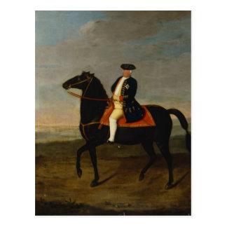 Cartão Postal Rei Frederick William Eu a cavalo