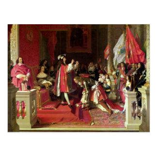 Cartão Postal Rei Philip V da espanha