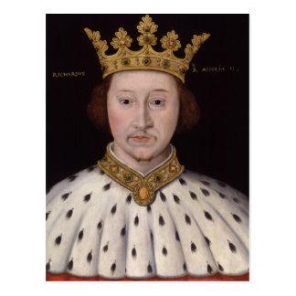 Cartão Postal Rei Richard II de Inglaterra