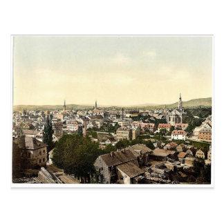 Cartão Postal Reichenberg, vista geral, Boémia, Austro-Hungria