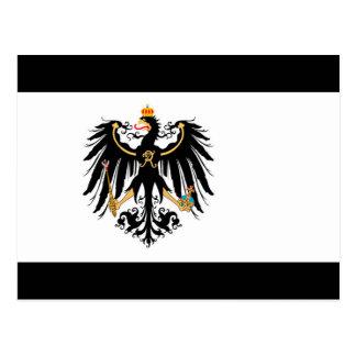 Cartão Postal Reino Preussen estandarte de nacional