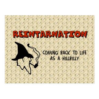 Cartão Postal Reintarnation
