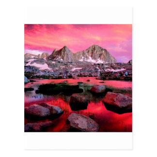 Cartão Postal Reis Garganta Califórnia da bacia de Dusy do