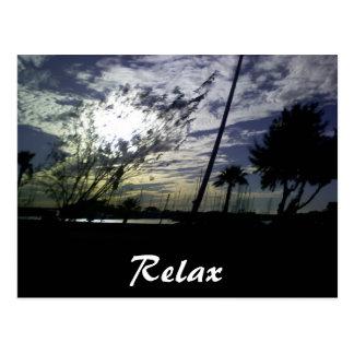 Cartão Postal Relaxe