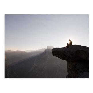 Cartão Postal Relaxing ele the rock