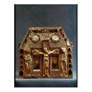Cartão Postal Relicário de Pepin mim rei de Aquitaine