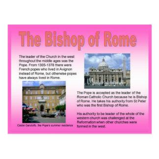 Cartão Postal Religião, católico romano, Bishop de Roma