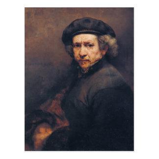 Cartão Postal Rembrandt: Auto-retrato