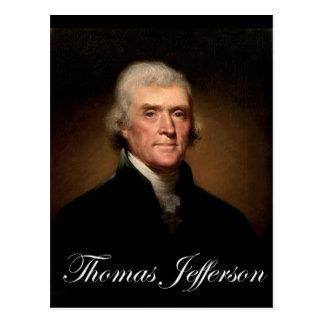 Cartão Postal Rembrandt_Peale-Thomas_Jefferson 1
