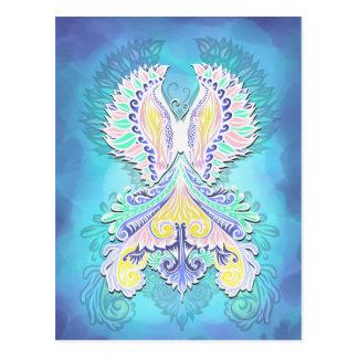 Cartão Postal Renascido - luz, bohemian, espiritualidade