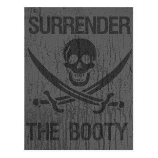 Cartão Postal Renda os piratas do arrrhhh do montante!