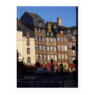 Cartão Postal Rennes, France