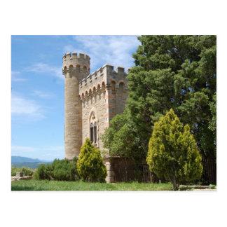 Cartão Postal Rennes Le Castelo
