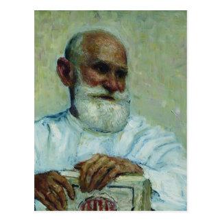 Cartão Postal Repin-Retrato de Ilya do fisiologista Ivan Pavlov