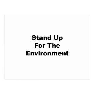Cartão Postal Represente acima o ambiente