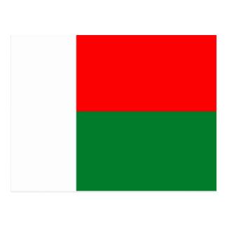 Cartão Postal Republi longo do símbolo da nação da bandeira do