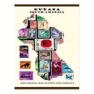 Cartão Postal Republic of Guyana