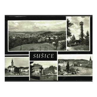 Cartão Postal República checa de Sušice
