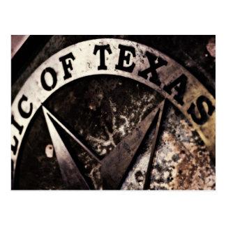 Cartão Postal República de texas