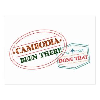 Cartão Postal República dos Camarões feito lá isso