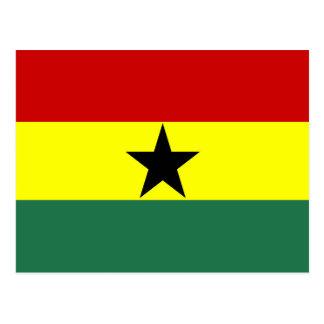 Cartão Postal República longa do símbolo da nação da bandeira do