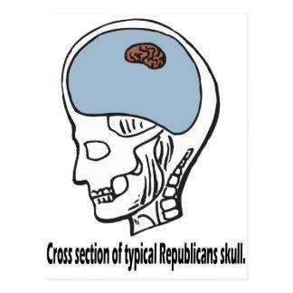 Cartão Postal Republicano típico